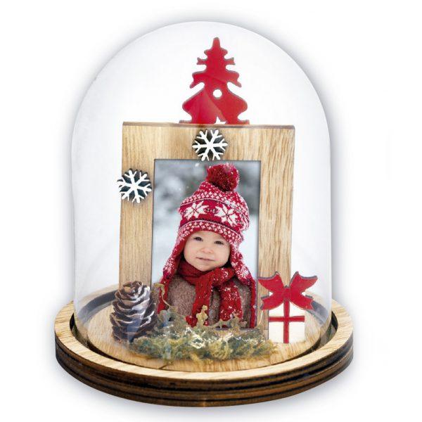 marco navideño para fotos
